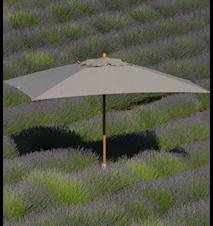 Classic 3x4 parasol - Grå