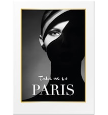 Take me to Paris poster – 50x70