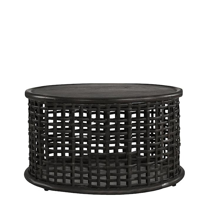 Nest Soffbord Ø100cm Black