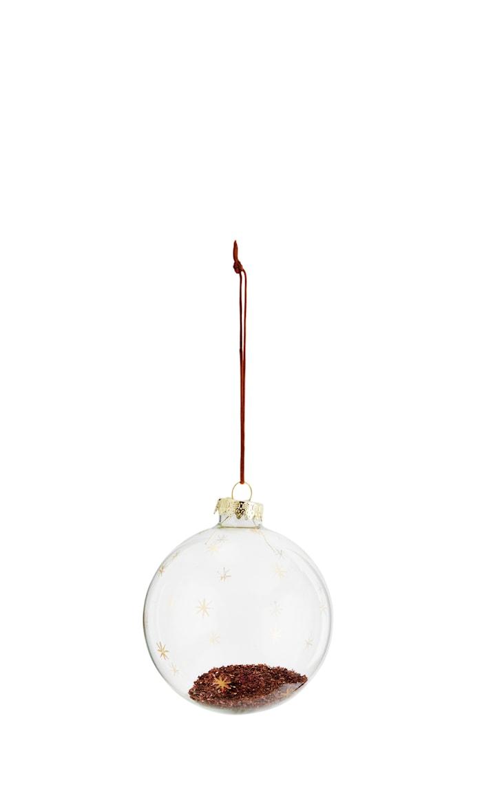 Glasskule Ø 8 cm - Gull