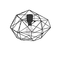 Diamond Plafond Sort