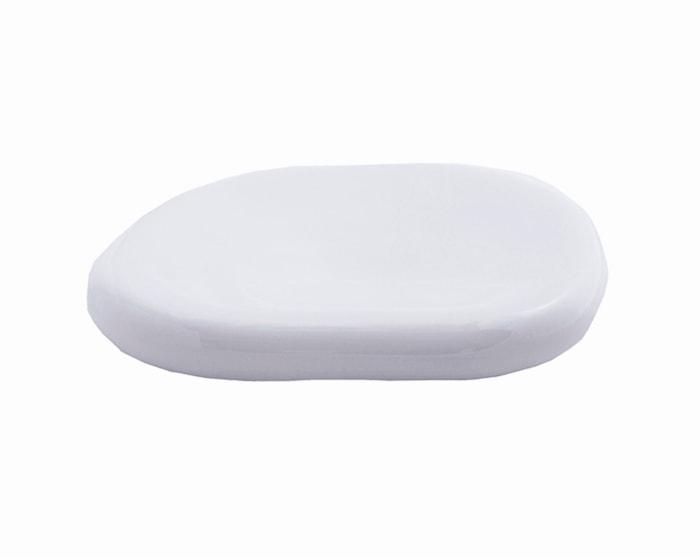 Serveringstallerken hvit