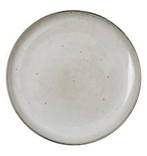 Rustic kleiner Teller 19cm Beige