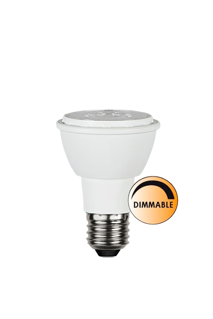 Ljuskälla LED Spot E27 Vit Dimbar