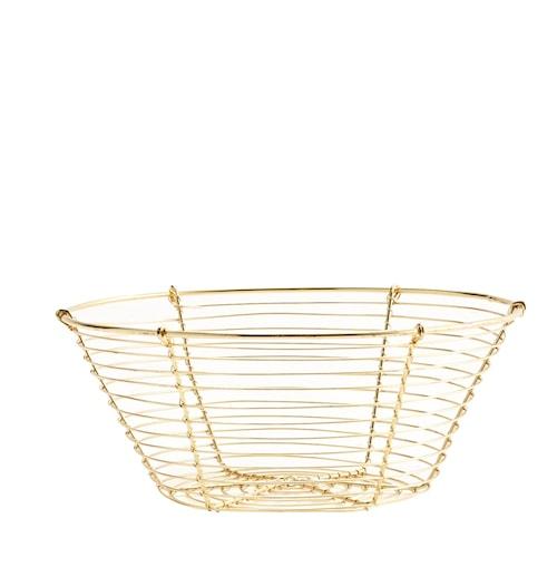 Korg Ø 19 cm - Guld