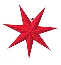 Aino Julstjärna slim 60 Röd