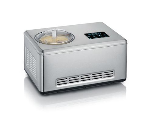 Glassmaskin med Kompressor, Yoghurtfunktion, 2 L, Dubbla Skålar