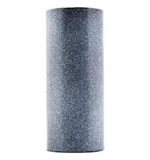 Vase Effect Ø 10x24 cm - Sort/hvid