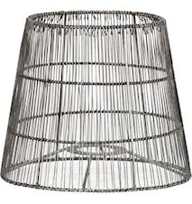 Mia Nordic Lampeskærm Antiksølv 24cm