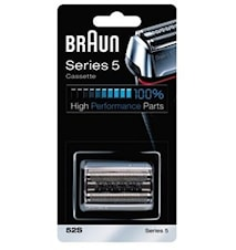 Braun Series 5 barberblad + saksehoved 52S Silver