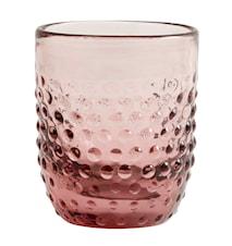 Juomalasi Ø 9 cm - vaaleanpunainen