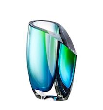 Mirage Grön/Blå Vas 15,5cm