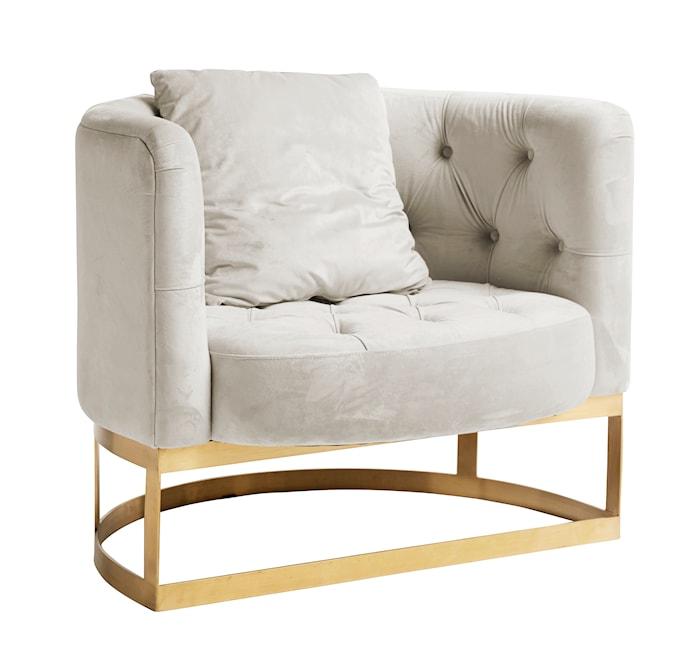 Lounge Chair lenestol - Cream White