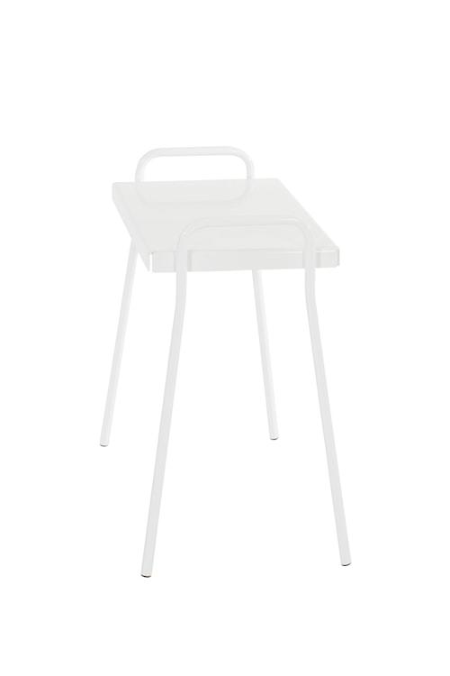 Tuuli Cafébord rektangulärt Vit
