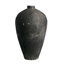 Luna Kruka Svart Terracotta 130x73 cm