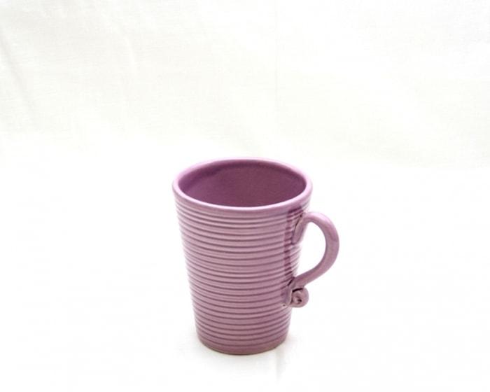 Algarve Kaffemugg med öra Lila 10 cm