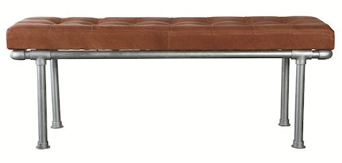 Addition bänk 120 cm - Brun