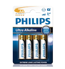 Fashion Ultra Alkaline AA 4-pk