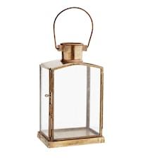 Lanterne 10x7x17,5 cm - Messing