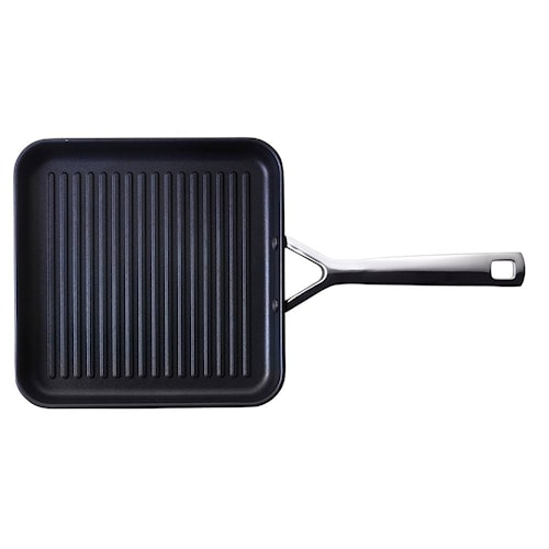 Aluminium grillpanne 28x28 cm