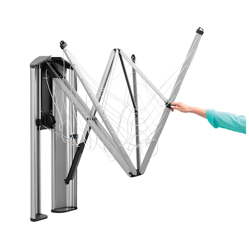 Skyddsbox/kåpa till Wallfix i rostfritt stål Mattborstat Stål