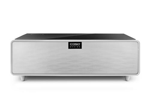 Sound&Cool - Loungebord med Soundbar og Dobbel Køleskuffe