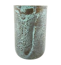 Vase Style Ø 9x14 cm - Grønn