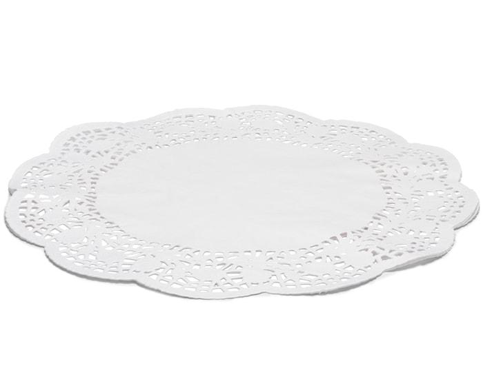 Kakeserviett Hvit, Ø 36 cm