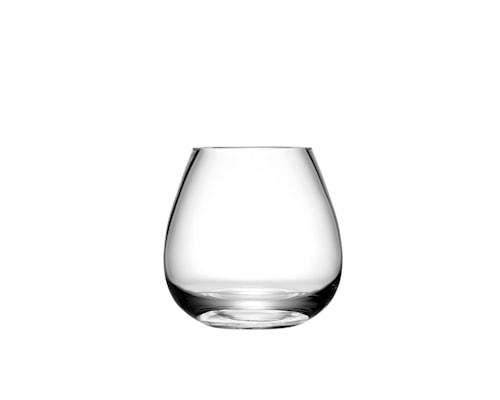 Flower vase klar, h: 11 cm