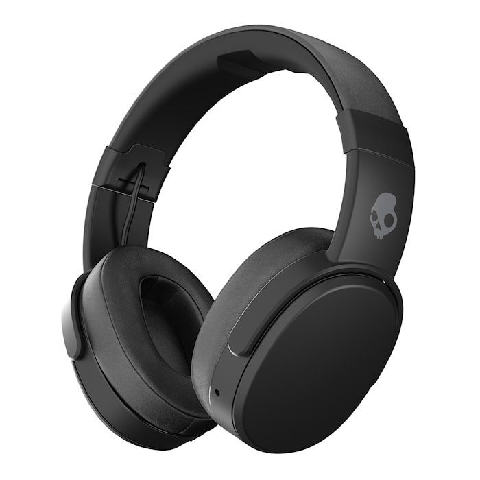 Crusher Wireless Svart Over-Ear Trådlös Mic