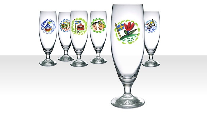Friendship Ölglas 50cl 6-pack