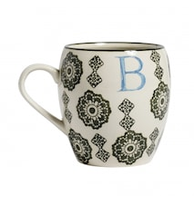 LETTER cup, B