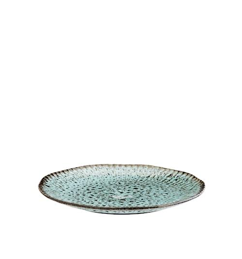 Tallrik Ø 27,5 cm - Grön/svart
