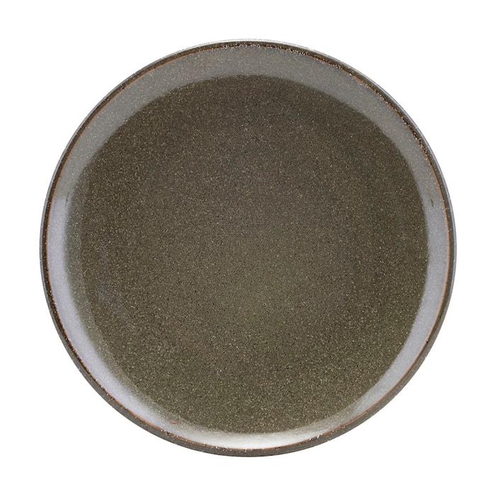 Lake lunchtallrik grön 21,4 cm