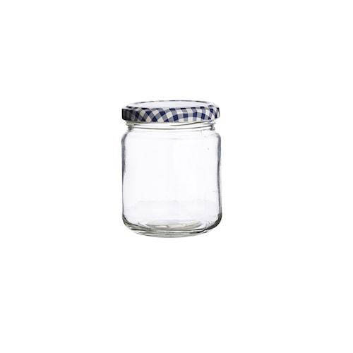 Rundt glass m/skrulokk 22.8cl