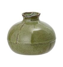 Vas Stengods Grön H11,5 cm