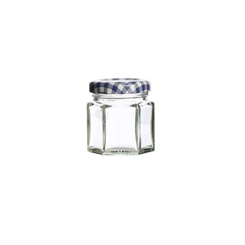 Kantet glass m/skrulokk 4,8cl