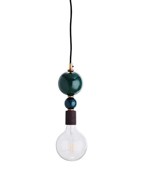 Taklampa Ø 10 cm - Grön