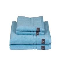 Premium Handduk Blå 30x50 cm