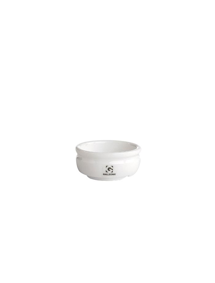 Saltkar Porselen Hvit 6,4 cm