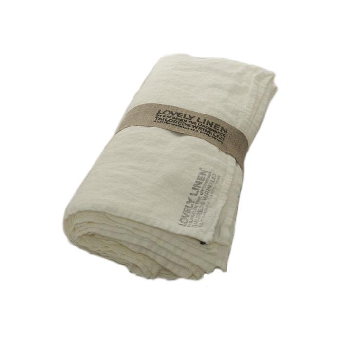 Lovely linen tablecloth duk 145x250