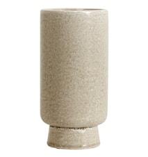 Vase Stoneware Creme Large