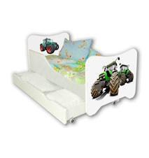 Tractors juniorsäng med låda