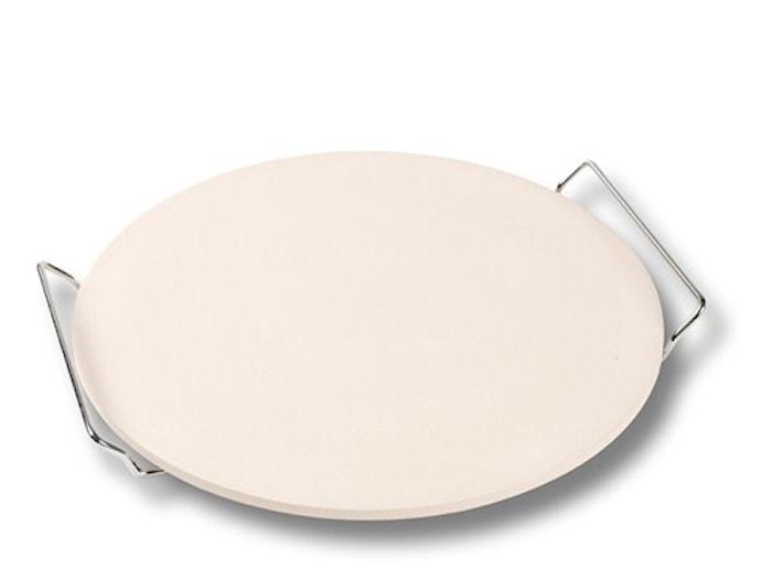 Pizzasten med Ställning Keramik 33,5 cm