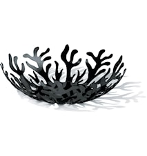 Mediterraneo Hedelmäkori Ø 29 cm Musta