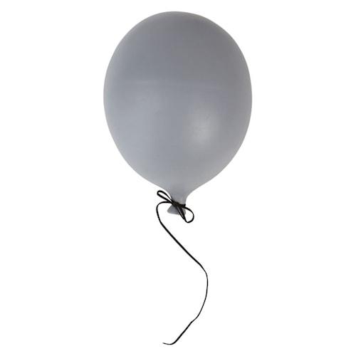 Dekoration Balloon 17x23 cm Grå