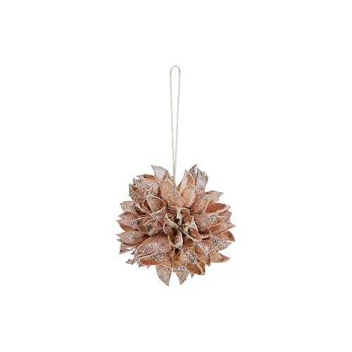Ornament Seeds Ø 6 cm Beige
