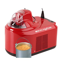 Gelato Chef 2200 glassmaskin röd 1,5L