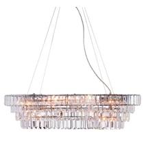 Rockelsta Lampe 10 Lys Krom
