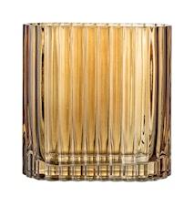 Vase Brown Glass 18x9 cm